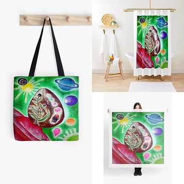 The Cosmic Egg Tote Bag