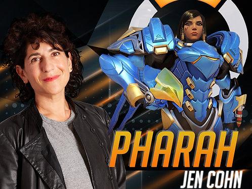 Autograph with 8x10 Jen Cohn + Pharah