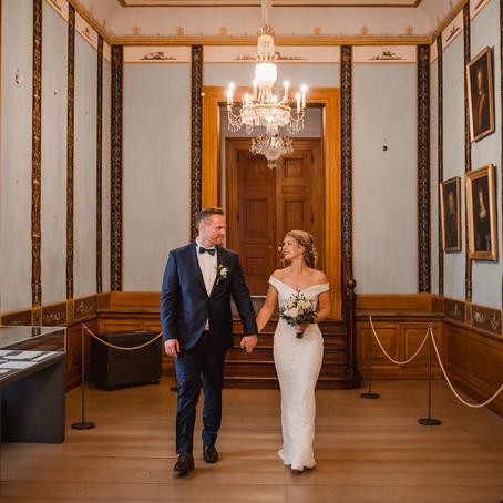 "Trauung im Schloss Jever - K & H sagen trotz Corona ""Ja!"""