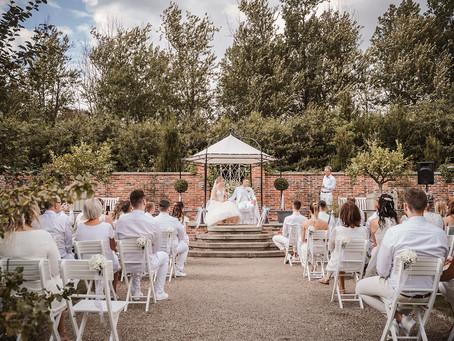 White Wedding auf Gut Horn Gristede  -  J & A