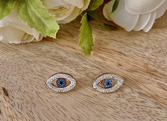 Boucles d'oreilles Oeil Ref B012