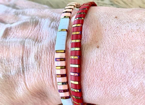 Bracelet pierre du japon