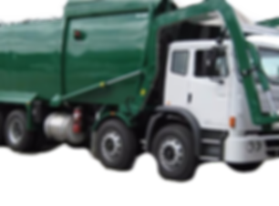 Front Loader Truck used for waste disposal services