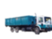 Roll Off Truck that is used for waste management service