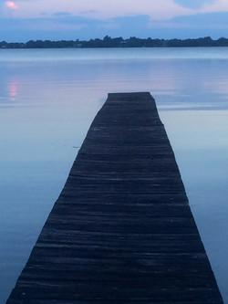 Our dock next door...