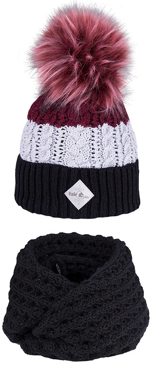 Fairplay Amore Hat & Neck Snood Set