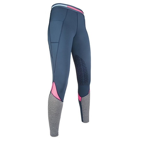 HKM Pro Team Active Silicone Grip Riding Tights