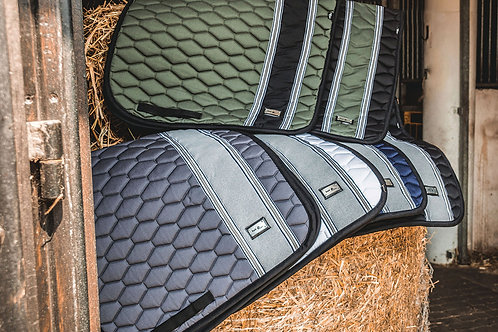 Fairplay Hexagon stripe saddle pad - close contact styling FS