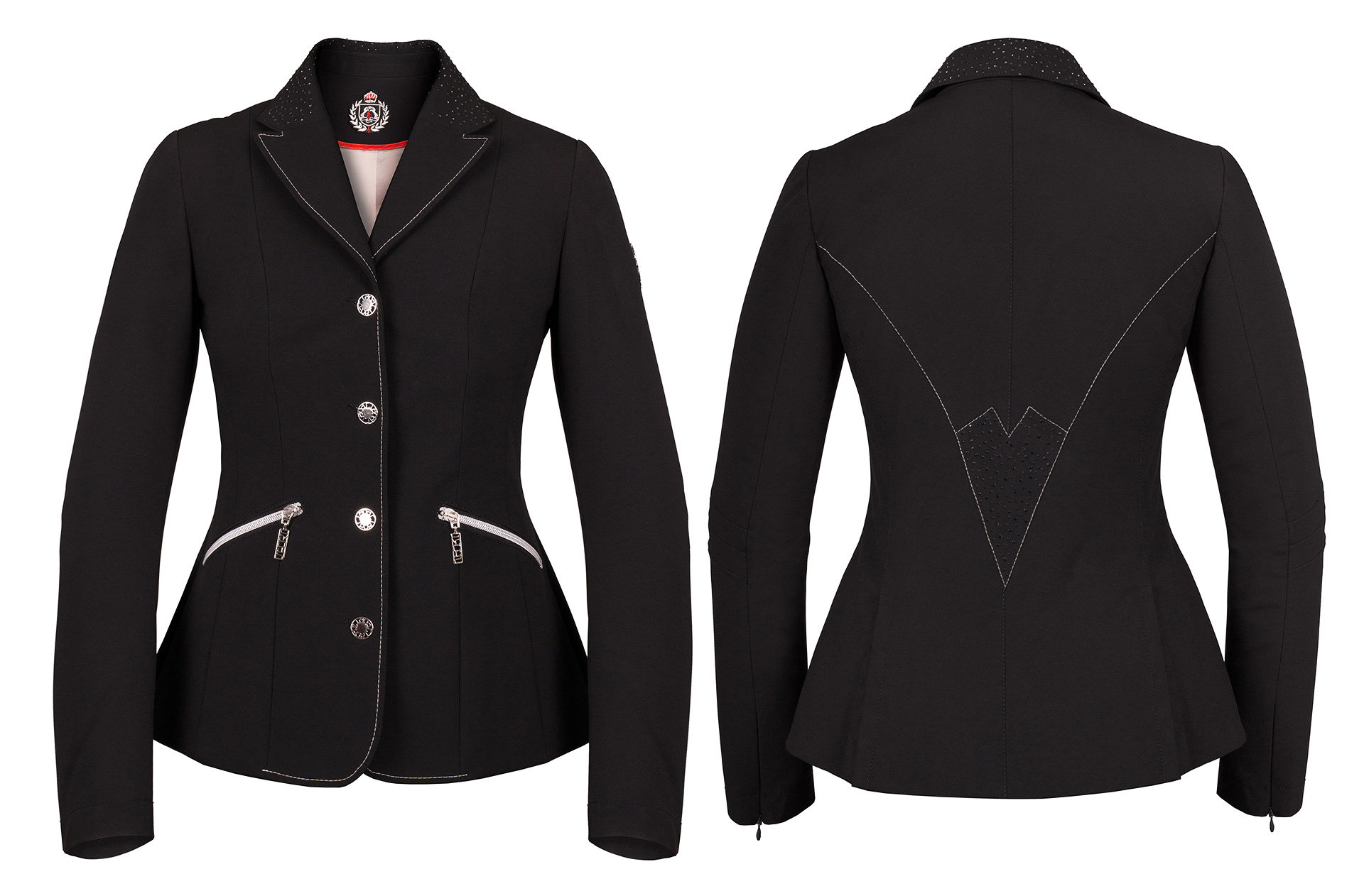 Fair Play Cesaria Grey Competition Jacket