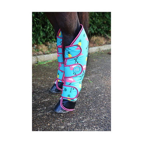 HY Flamingo Travel Boots