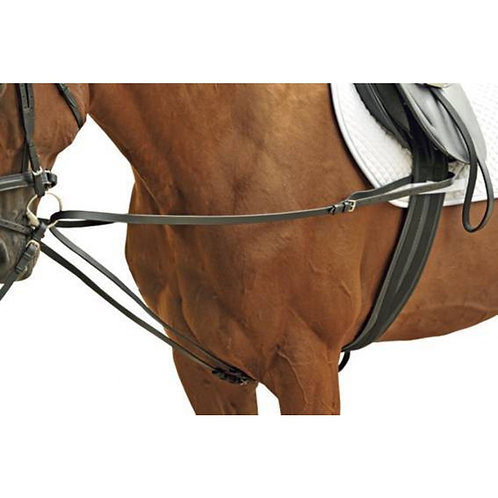 HKM Leather draw reins