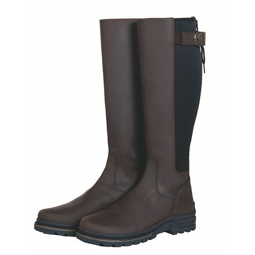 HKM Glasgow style oil-led leather riding boots