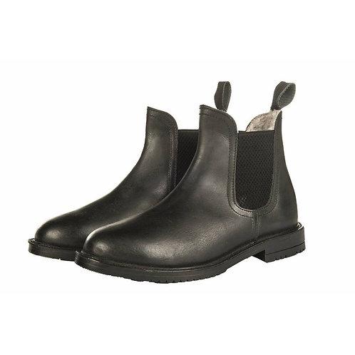 HKM Illinois calf leather jodhpur boots