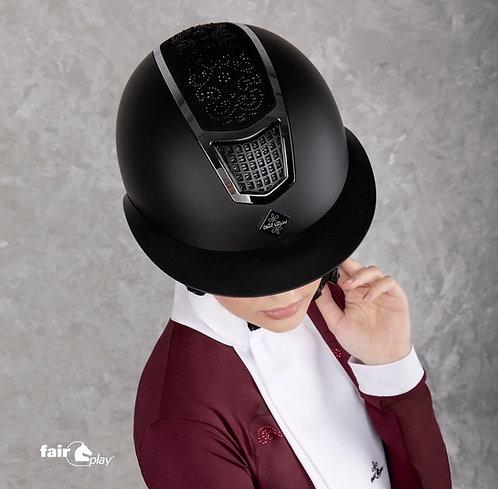 FairPlay Quantinum Chic wide brim visor helmet