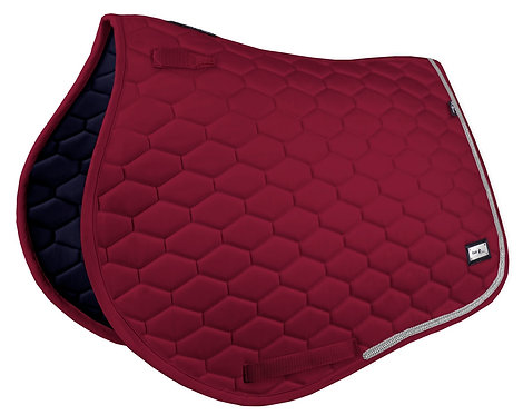 Fairplay Crystal Hexagon saddle pad