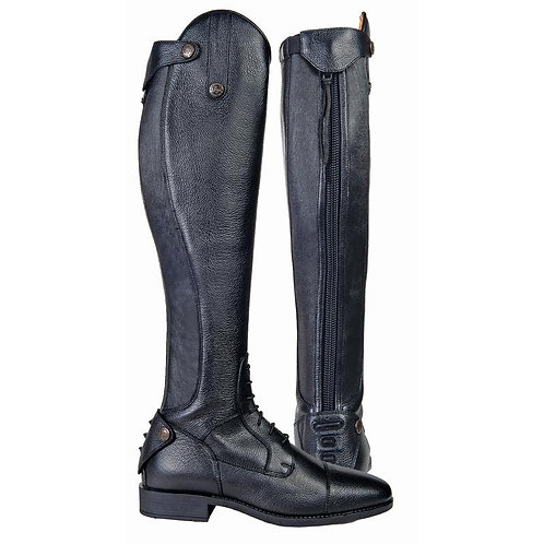 HKM Latinium Riding Boots-short hight/width standard