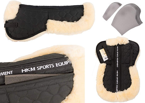 HKM Corrective sheepskin pad with shim pack