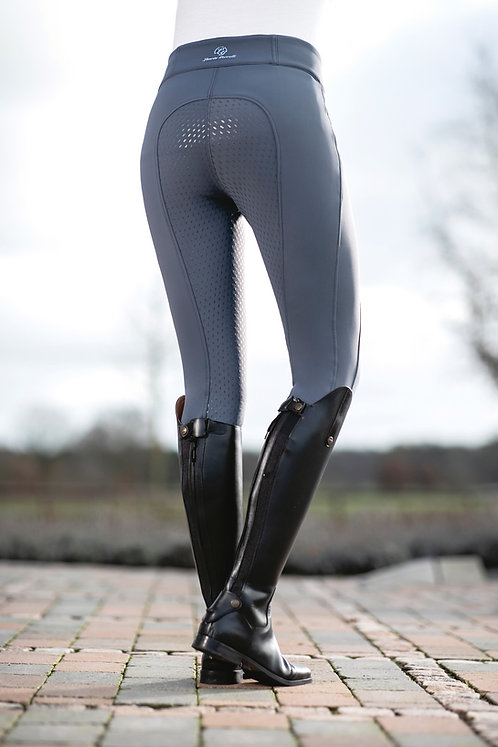 Glorenza Softshell winter breeches - highly water resistant full silicone seat