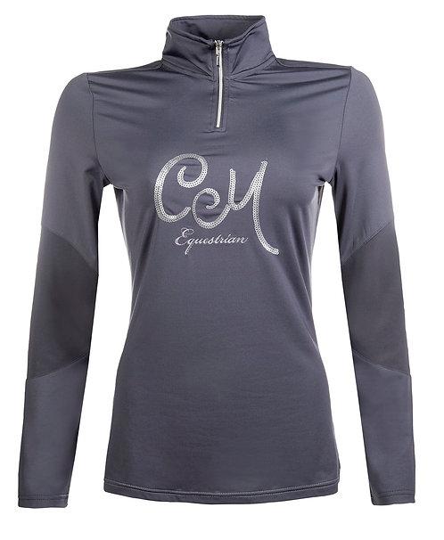 HKM CM Piemont sequins technical shirt