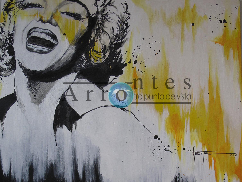 Marilyn Monroe (2) 100x81 cms