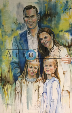 Familia Completa 130x195 cms