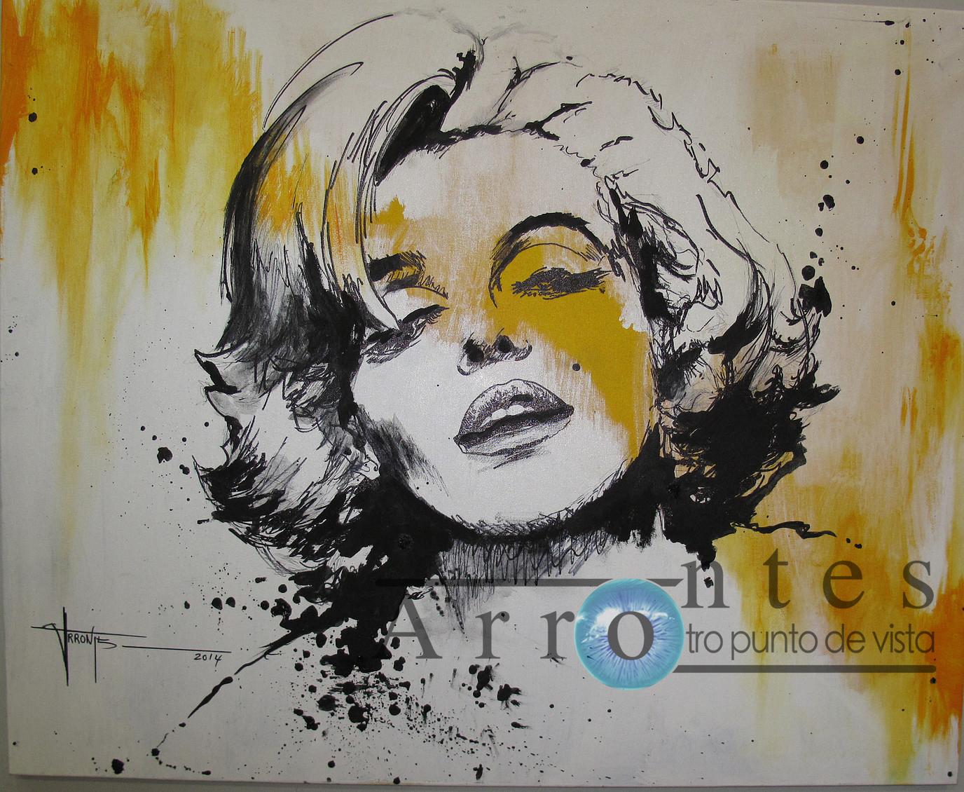 Marilyn Monroe (1) 100x81 cms