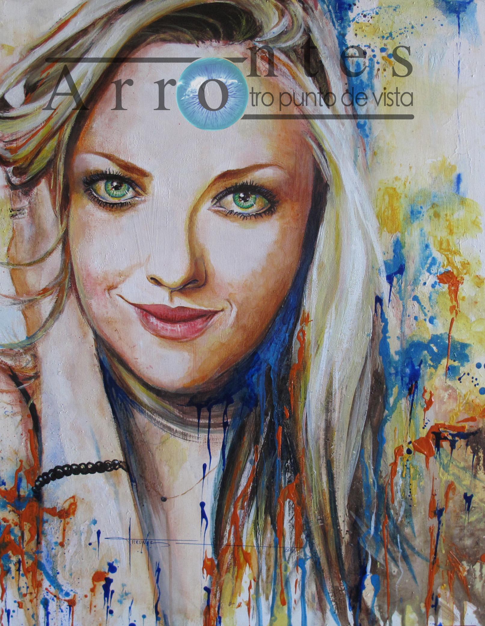 Amanda Seyfried  81x100 cms