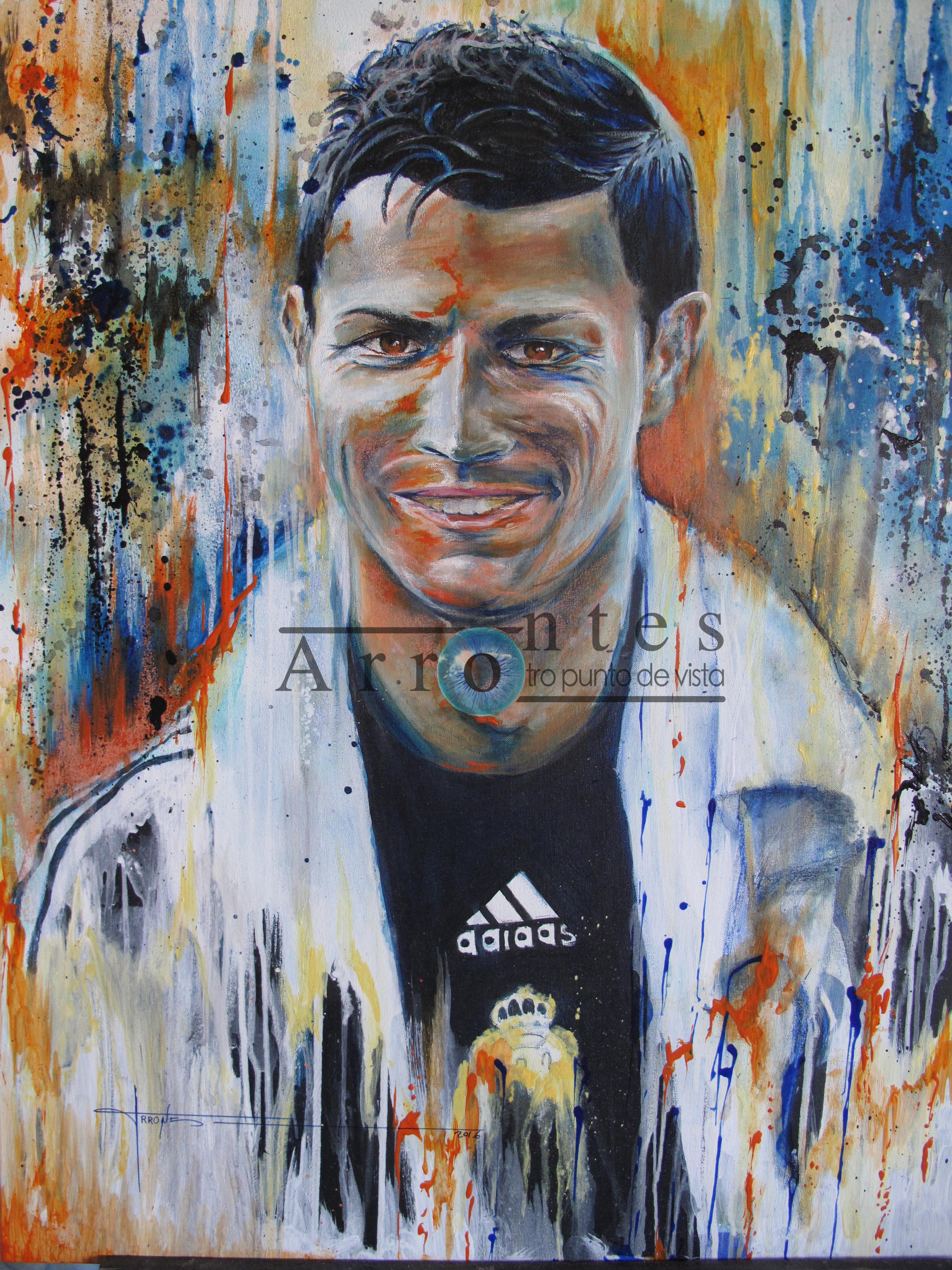 Cristiano Ronaldo 81x100 cms