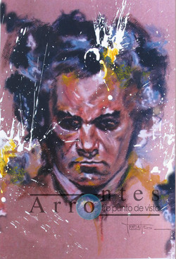 Beethoven 81x100 cms