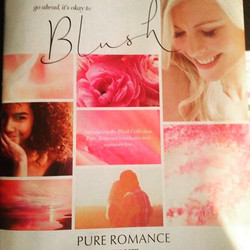 Ermergerd Blershing! On the cover of this naughty but nice #PureRomance catalog 😉 #tabbydelarosby #