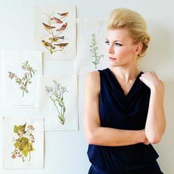 My Pompadour is poppin' photo by _krisdrakephoto #blonde #portrait #norwegiangirl #photo #profile #t
