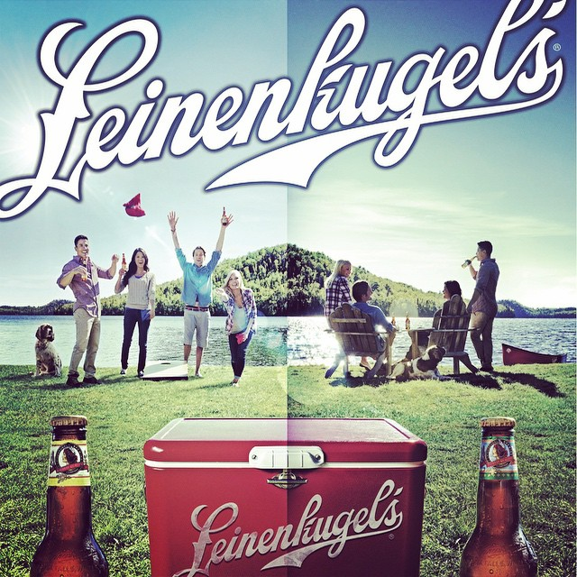 Love me some Leinies #tabbydelarosby _wehmannagency _brandonpound _tomgorton9 #beer #Leinenkugels #c