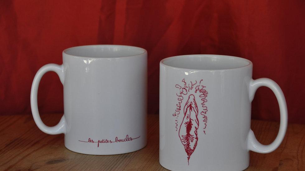 Mug Les Petites Boucles- Vulve