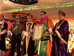 conferred upon Dr. Satpathy the prestigious title 'HonorisCausa (D. Litt. – Vacaspati)'.