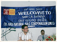 Joined as Chief Vigilance Officer (CVO) of Oil and Natural Gas Corporation