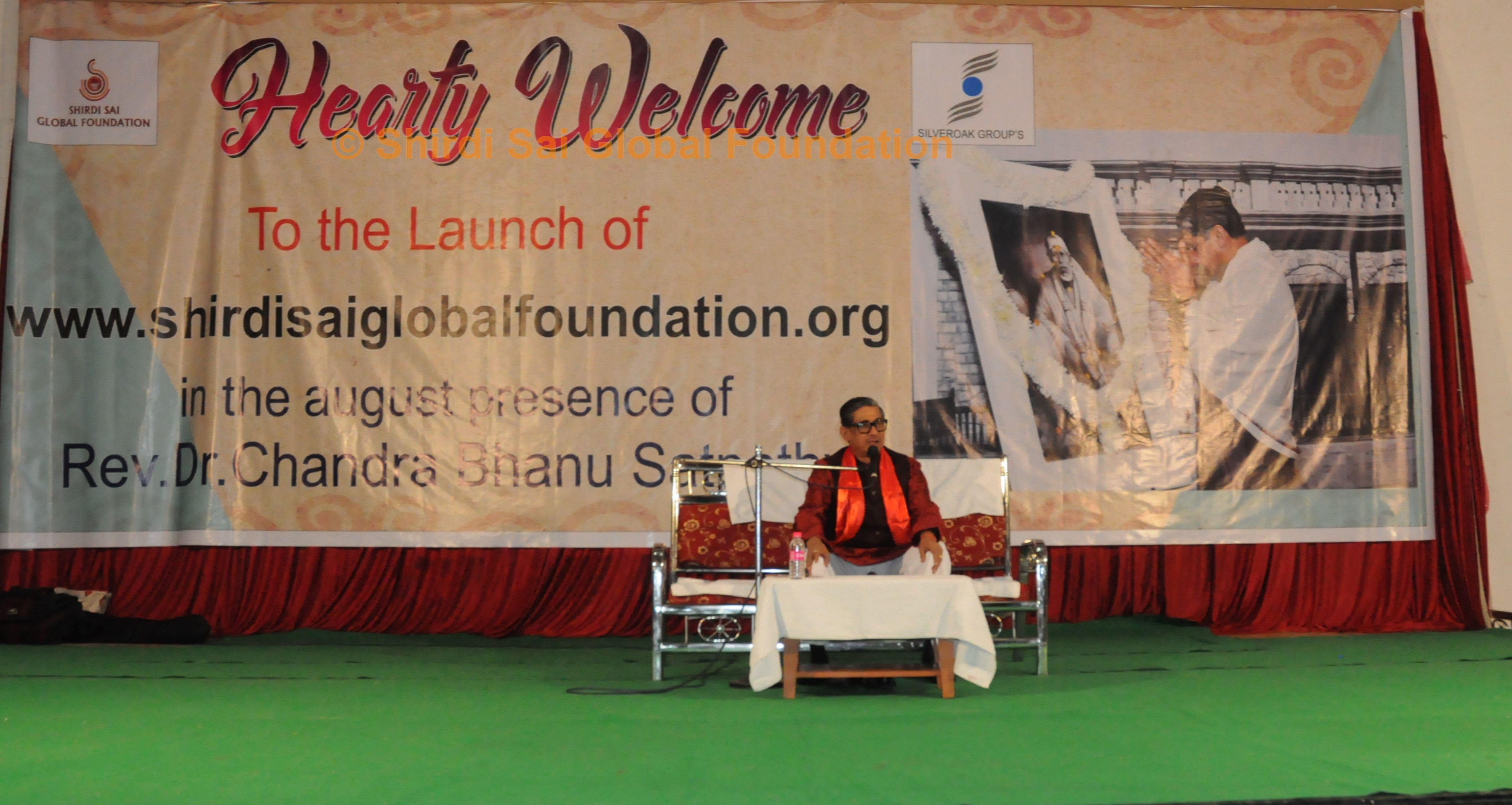 DR. C.B. SATPATHY AT SHIRDI