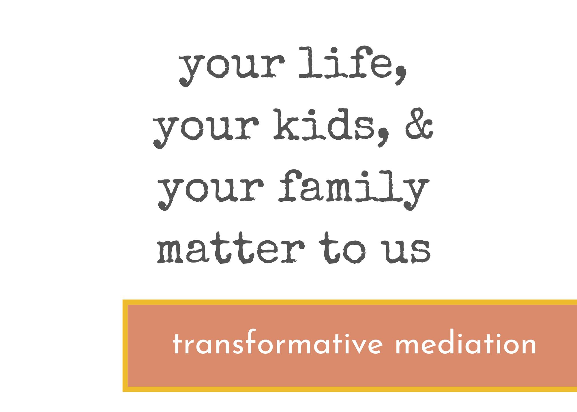 Free Consultation Family Mediation