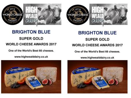 Brighton Blue en Little Sussex kaas!