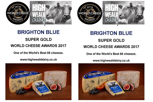 Brighton Blue per ons