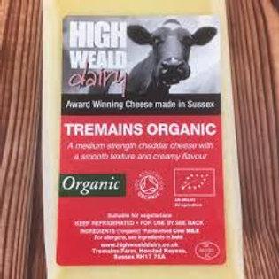 Tremains Cheddar per 10 gram Organic