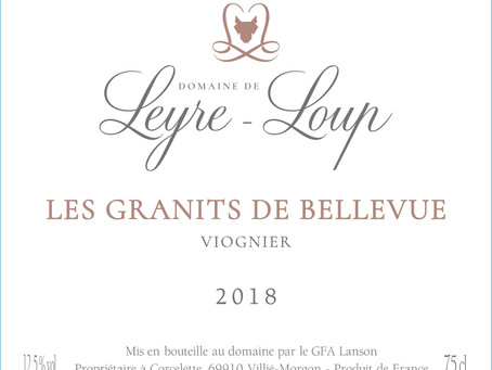 Domaine de Leyre-Loup (Beaujolais) is binnen!
