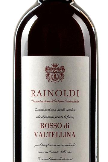 Aldo Rainoldi - Rosso di Valtellina DOC 2016