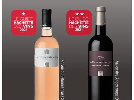 Cuvée de Bâtonnier in de Guide Hachette 2021!!!