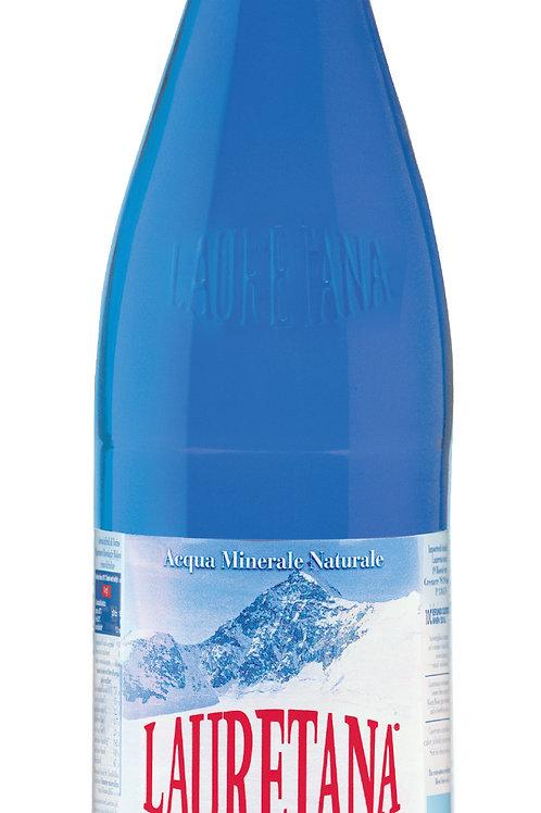 Lauretana Mineraal water 1.0 ltr - Doos van 6 - Bruisend GLAS
