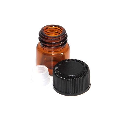 10 Pack 2ml Amber Sample Bottle