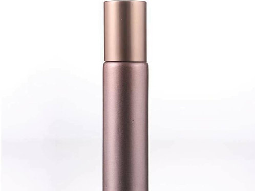 6 x 10ml Matte Rose Gold Roller Bottle Pack