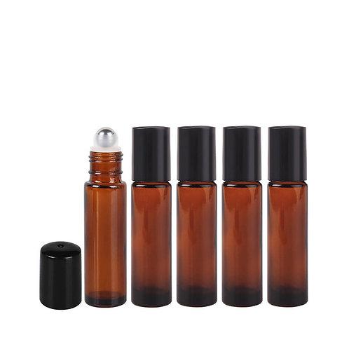 6 pack 10ml Amber Roller Bottle Pack