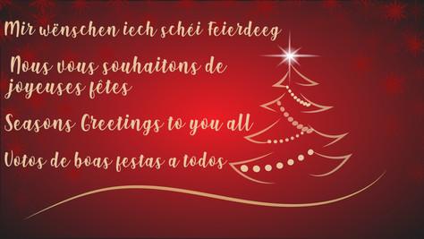 Chrëschtdag - Christmas - Noël - Natal