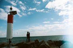 Lighthouse Smooching