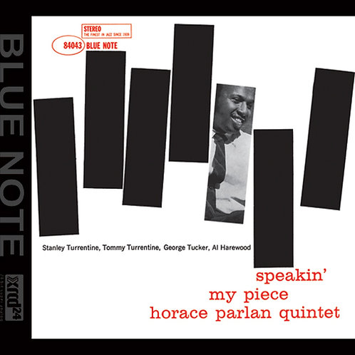 Horace Parlan - Speakin' My Piece - XRCD24